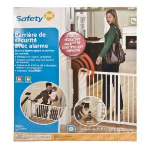 Safety 1st Security Alarm Gate, White Baby