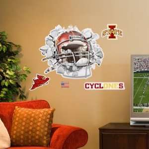 Iowa State Cyclones Smash Football Helmet  Sports