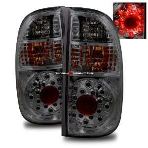 05 06 Toyota Tundra Access Cab LED Tail Lights   Smoke