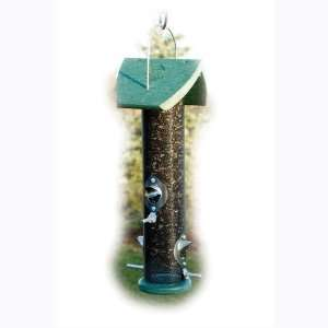 Green Combination Nyjer & Mixed Seed Tube Bird Feeder