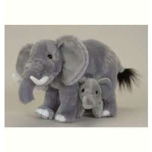 Plush Elephant and Baby Super Soft Stuffed Toy Toys