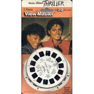 Michael Jackson Thriller View Master 3 Reel Set in 3D Toys & Games