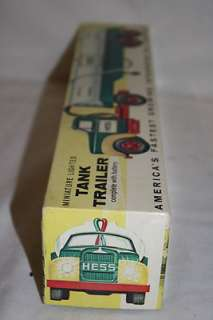 RARE MARX Hess Gasoline 1964 Toy Tank Trailer Truck in Original Box