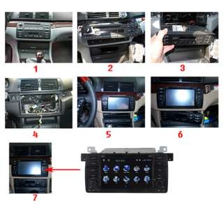 BMW 3 Series E46 Car GPS Navigation ATSC Digital TV DVD