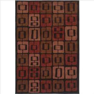 Angela Adams Munjoy Black Contemporary Rug Size 36 x 5