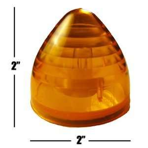 Amber 2 Beehive Marker Light Truck Boat Trailer RV Automotive