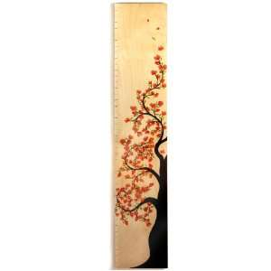 Cherry Blossom Tree of Life Wooden Growth Height Chart