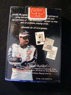 NEW, SEALED SINGLE DECK DALE EARNHARDT PLAYING CARDS