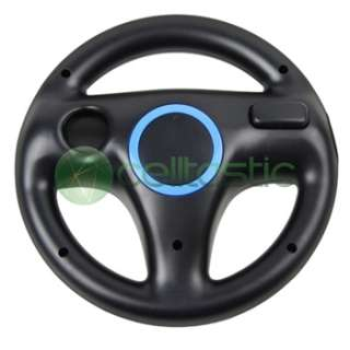NEW BLACK MARIO KART RACING WHEEL FOR Nintendo Console WII GAME